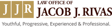Law Office of Jacob J. RivasYouthful, Progressive, Experienced & Professional.  Logo